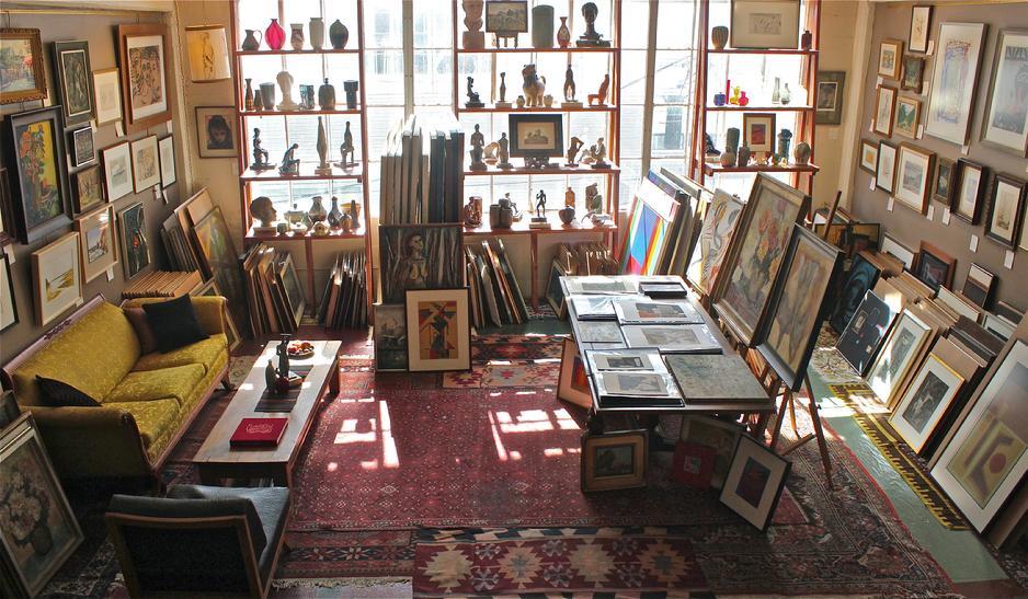 Lost Art Salon showroom, San Francisco