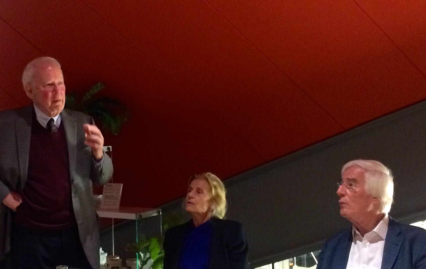 Richard Buxbaum, Regina Casper, Gerhard Casper