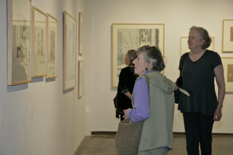Exhibition Reception, April 2017. Photo by Douglas Sandberg.