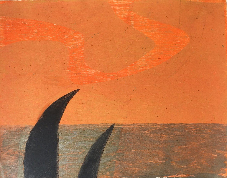 Eva Joseph,  Untitled , ca. 1985. Print. 15 1/2 x 20 inches.