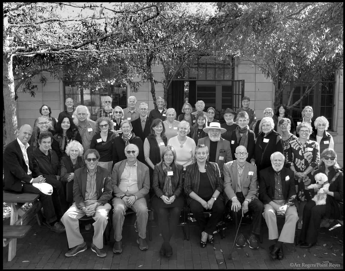 APAG West Seminar attendees and speakers, October 14, 2018, UC Berkeley School of Journalism. Photo: Art Rogers/Point Reyes