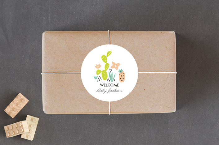 marabou design agave bebe sticker labels