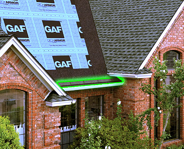 Pre-cut starter strip shingles will speed installation time while helping to prevent shingle blow-offs because of their factory-applied adhesive strips.