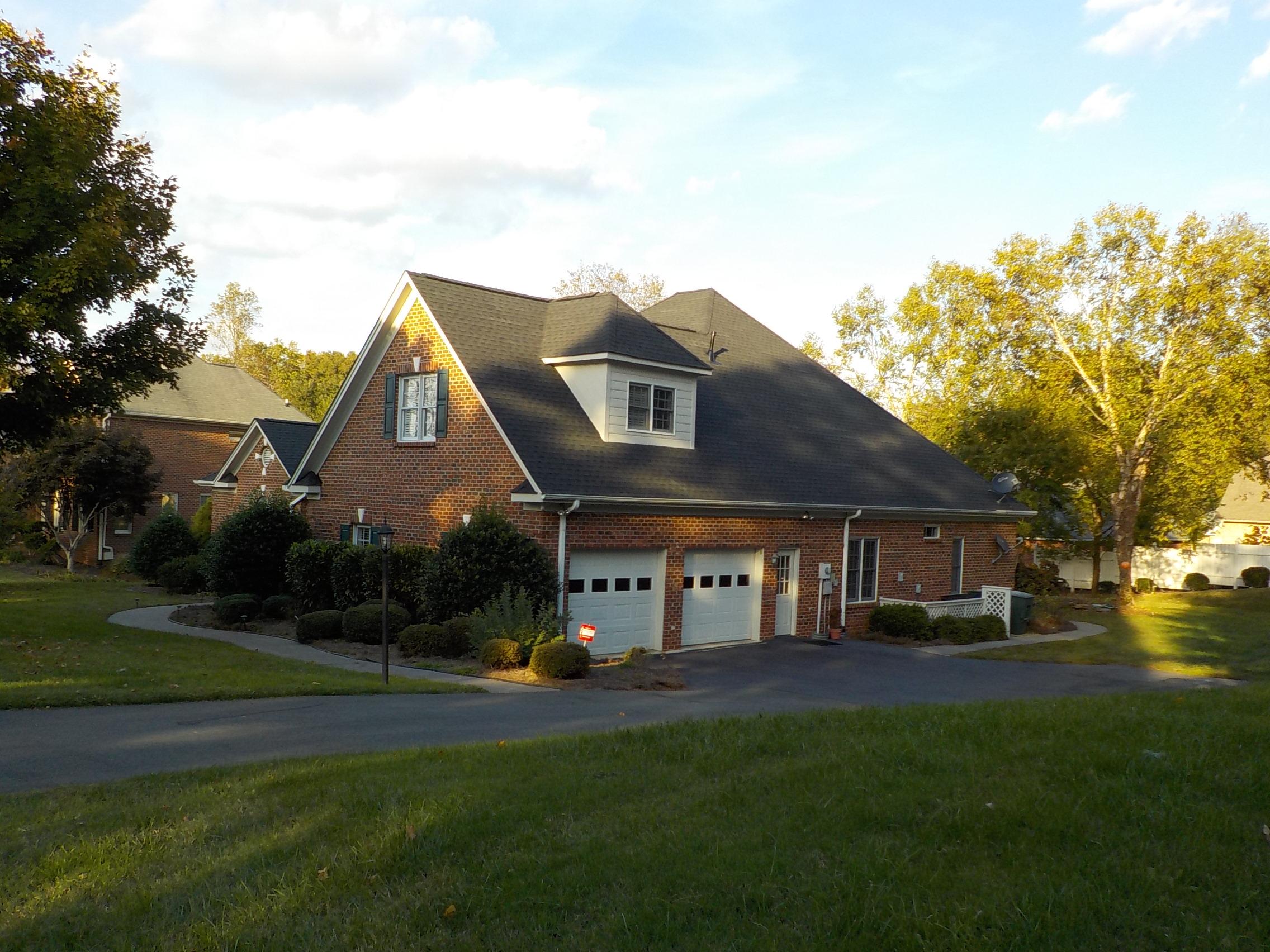 Winston-Salem, NC (Right Elevation)   GAF Timberline HD Charcoal