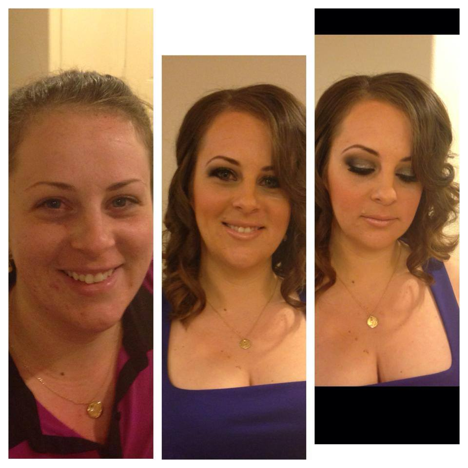 Makeover dramatic hair and makeup