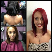 Makeover! Color, cut and makeup