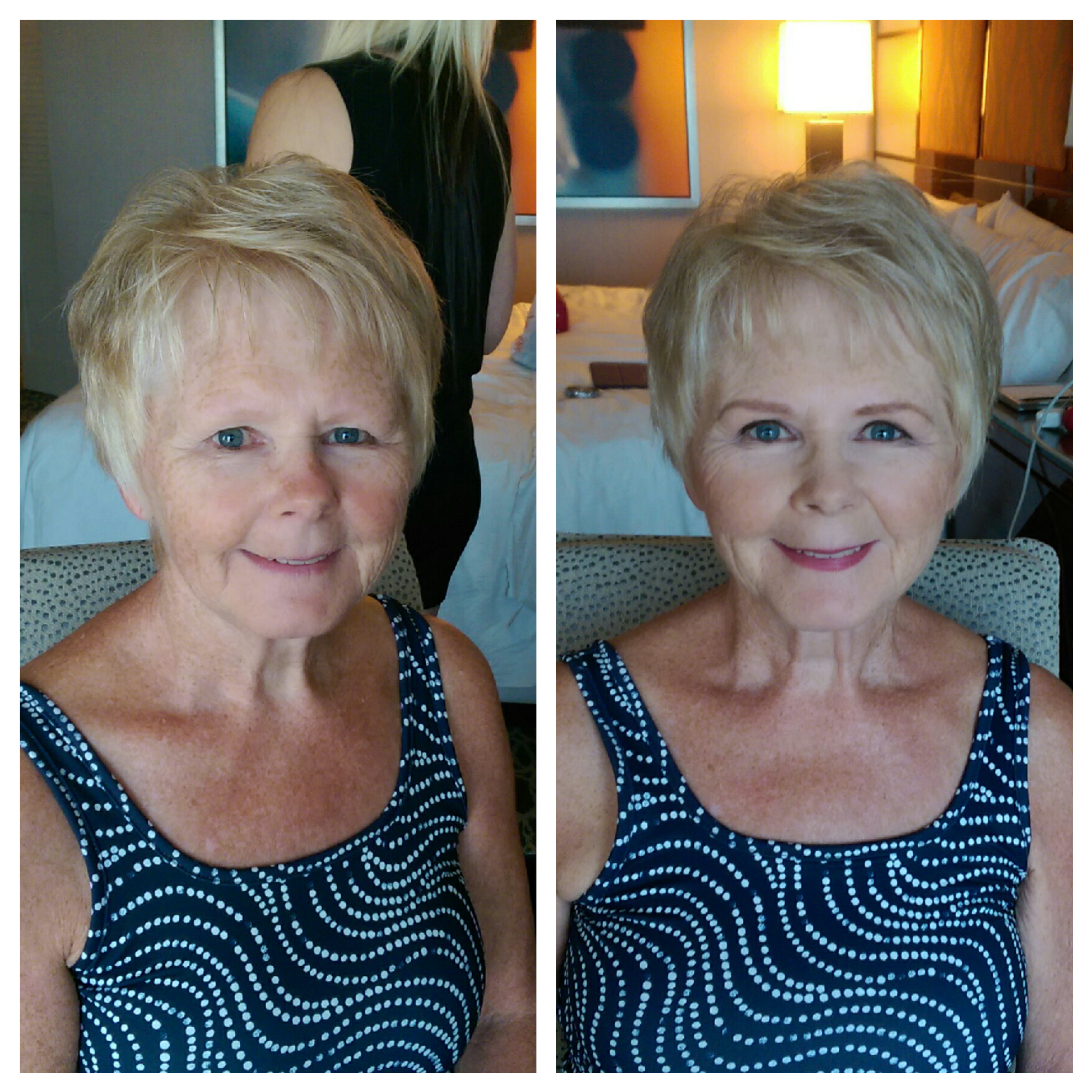 Mother of the bride Airbrush makeup done naturally