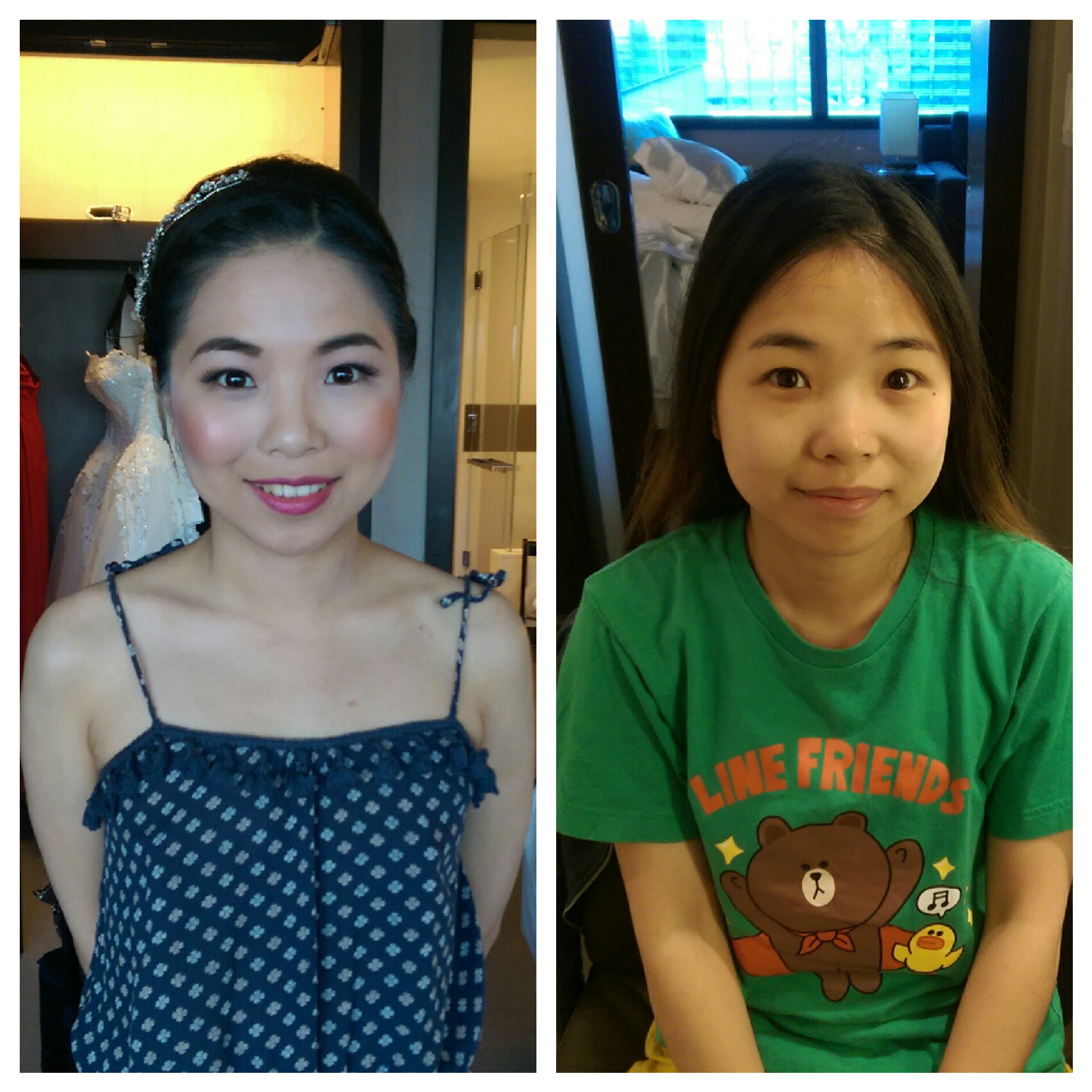 Adorable Traditional CHinese Hair and Makeup