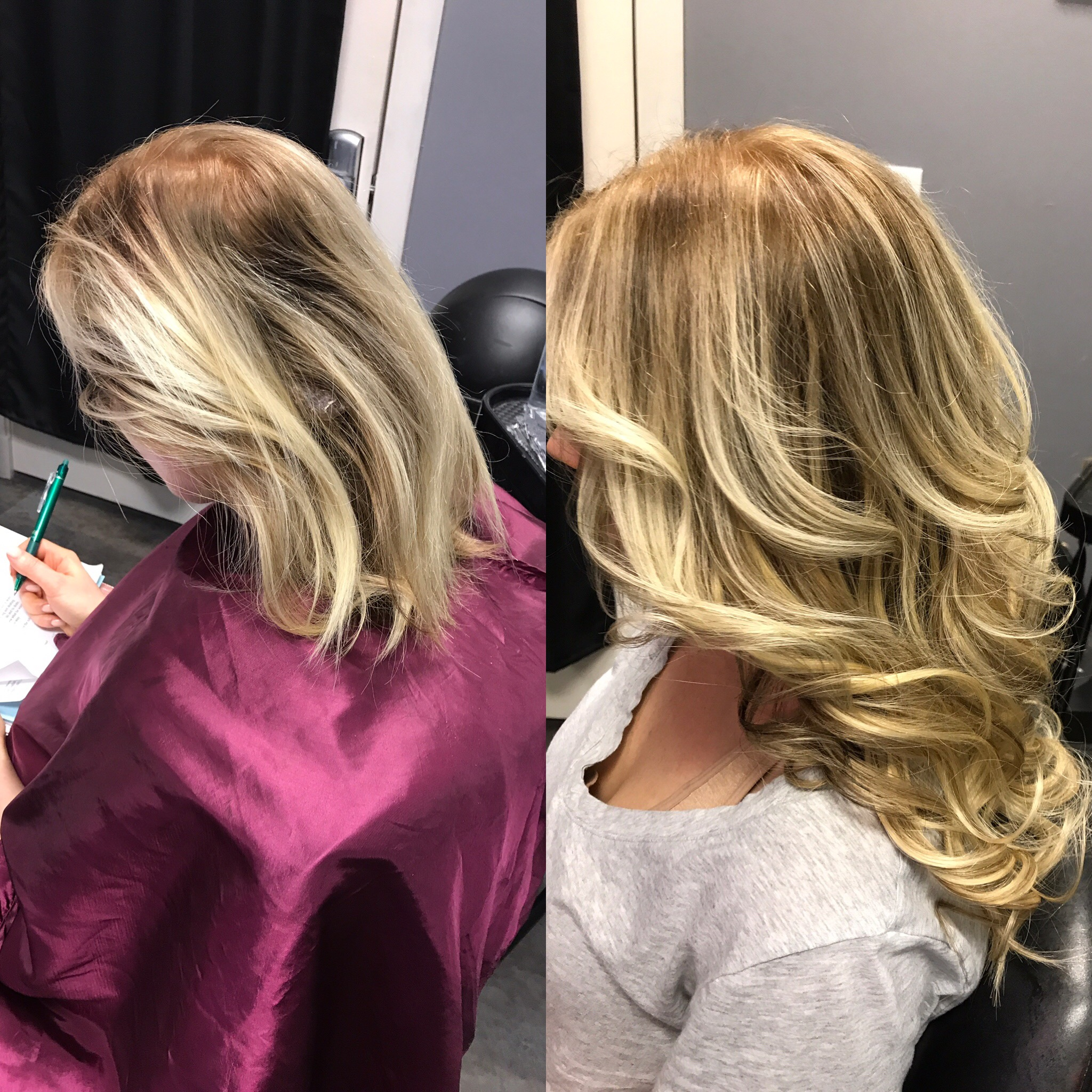 ROOT COLOR, HIGHLIGHT AND LAS VEGAS HAIR EXTENIONS