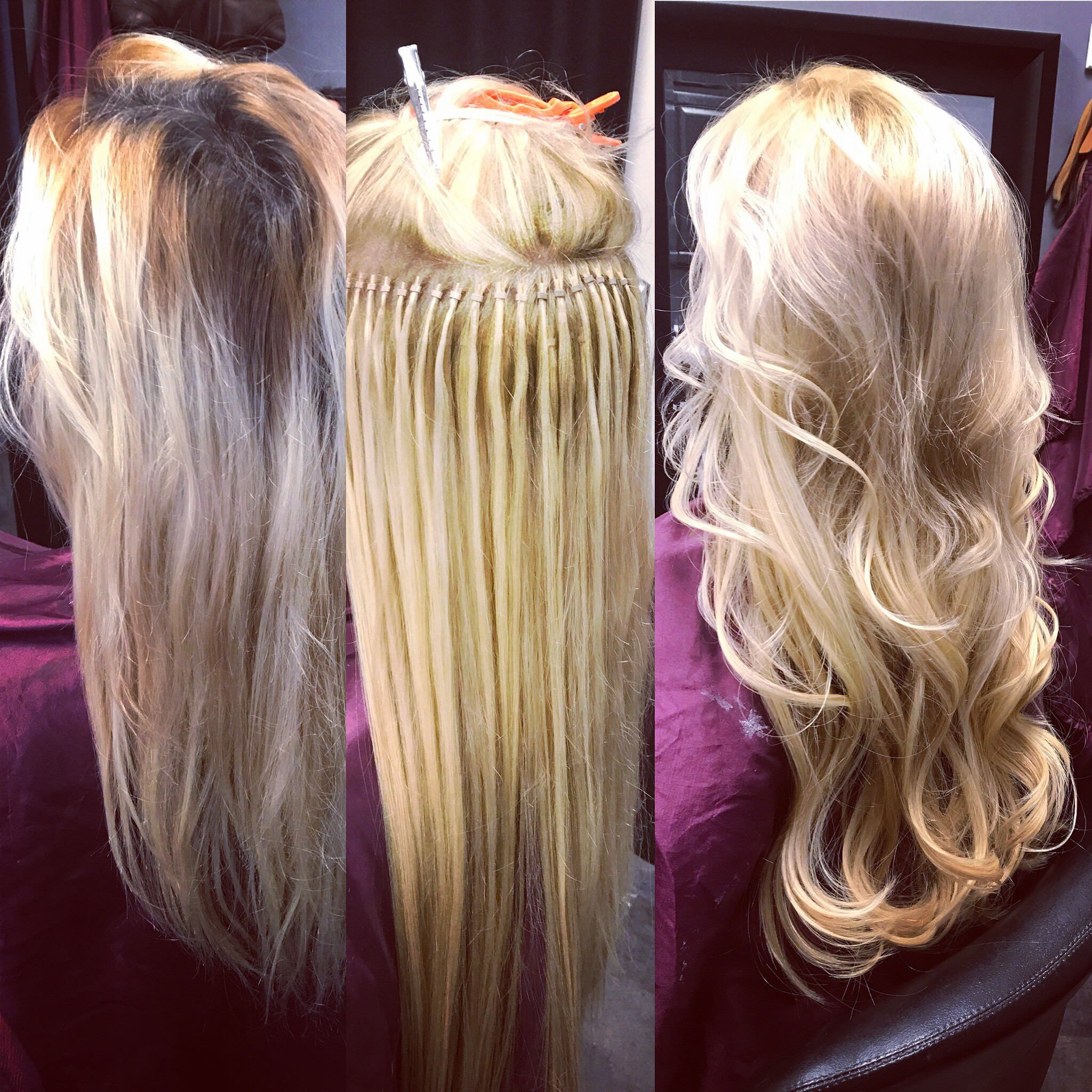 COLOR CORRECTION AND LAS VEGAS HAIR EXTENSIONS