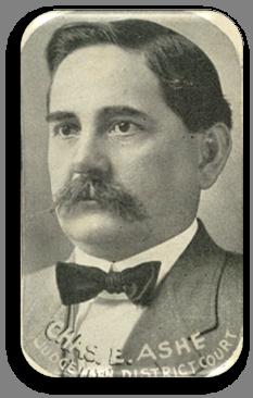 Portrait of Judge Charles E. Ashe