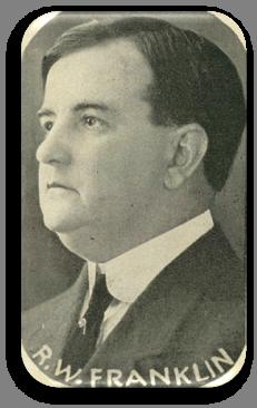 Portrait of R. W. Franklin