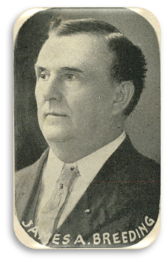 Portrait of James A. Breeding