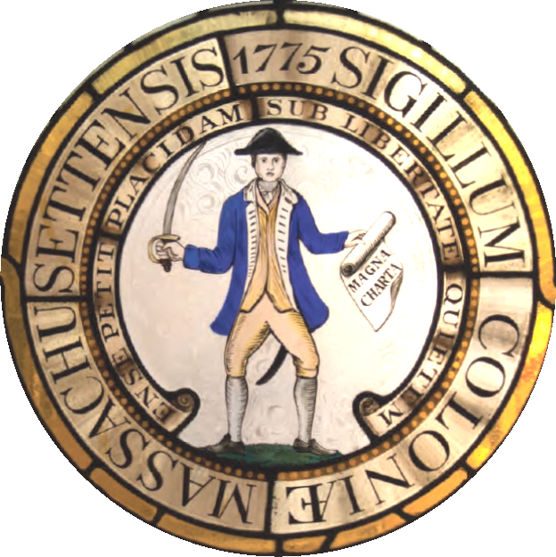 1775 Great Seal of the Commonwealth of Massachusetts