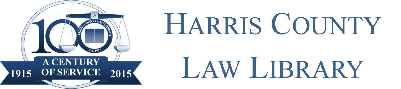 Harris County Law Library - A Century of Service: 1915-2015