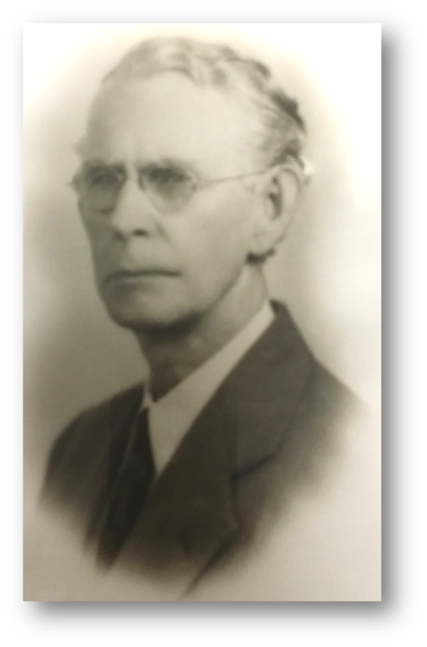 Portrait of F. W. Nisbet, first director of the Harris County Law Library.  Click to enlarge .