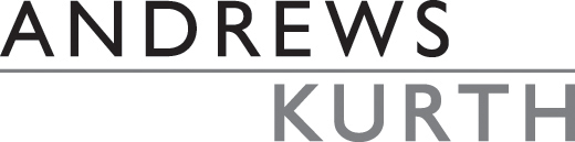 Andrews Kurth logo with link to company homepage.