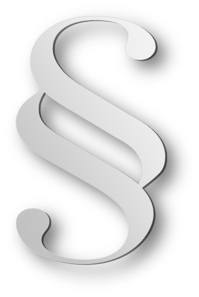 Section symbol with added shading