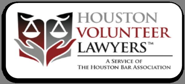 Link to Houston Volunteer Lawyers self-help divorce webpage.
