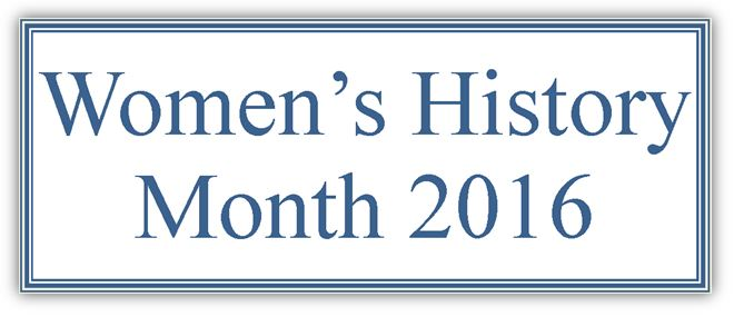Link to Women's History Month 2016 Digital Exhibit