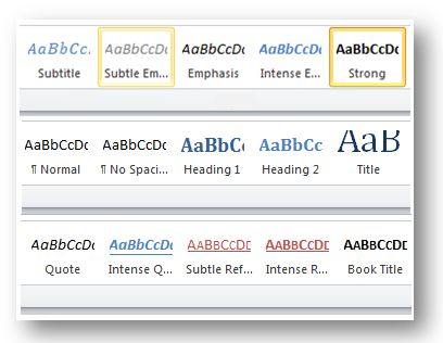 Using Styles in Microsoft Word to Format Appellate Briefs