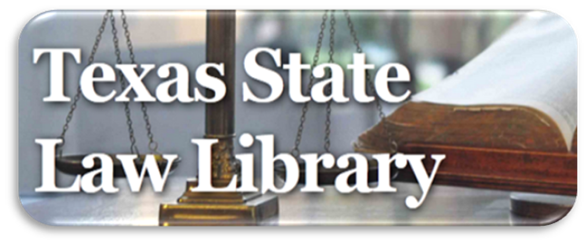 Link to the Texas State Law Library website
