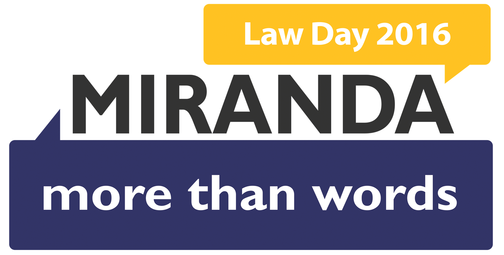 Link to Harris County Law Library Law Day digital exhibit - Miranda more than words