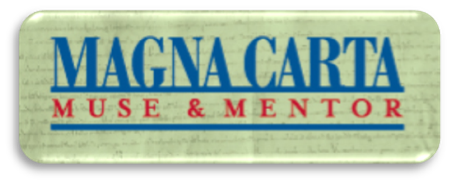 Link to Law Library of Congress exhibit title  Magna Carta: Mentor & Muse