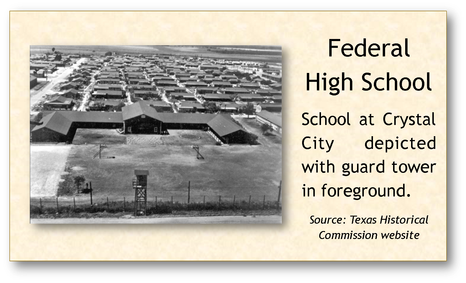 Federal High School with guard tower.png