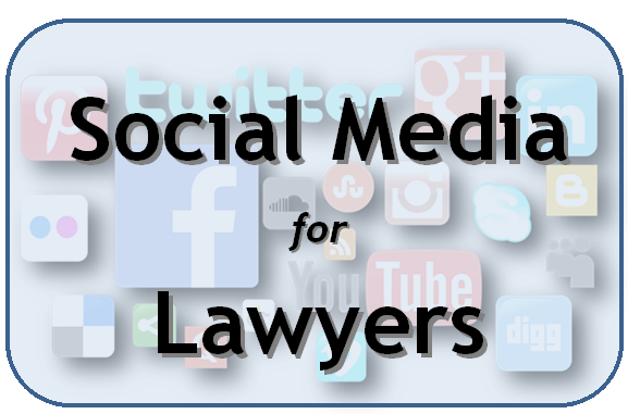 Social Media for Lawyers, a CLE presented by the Harris County Law Library