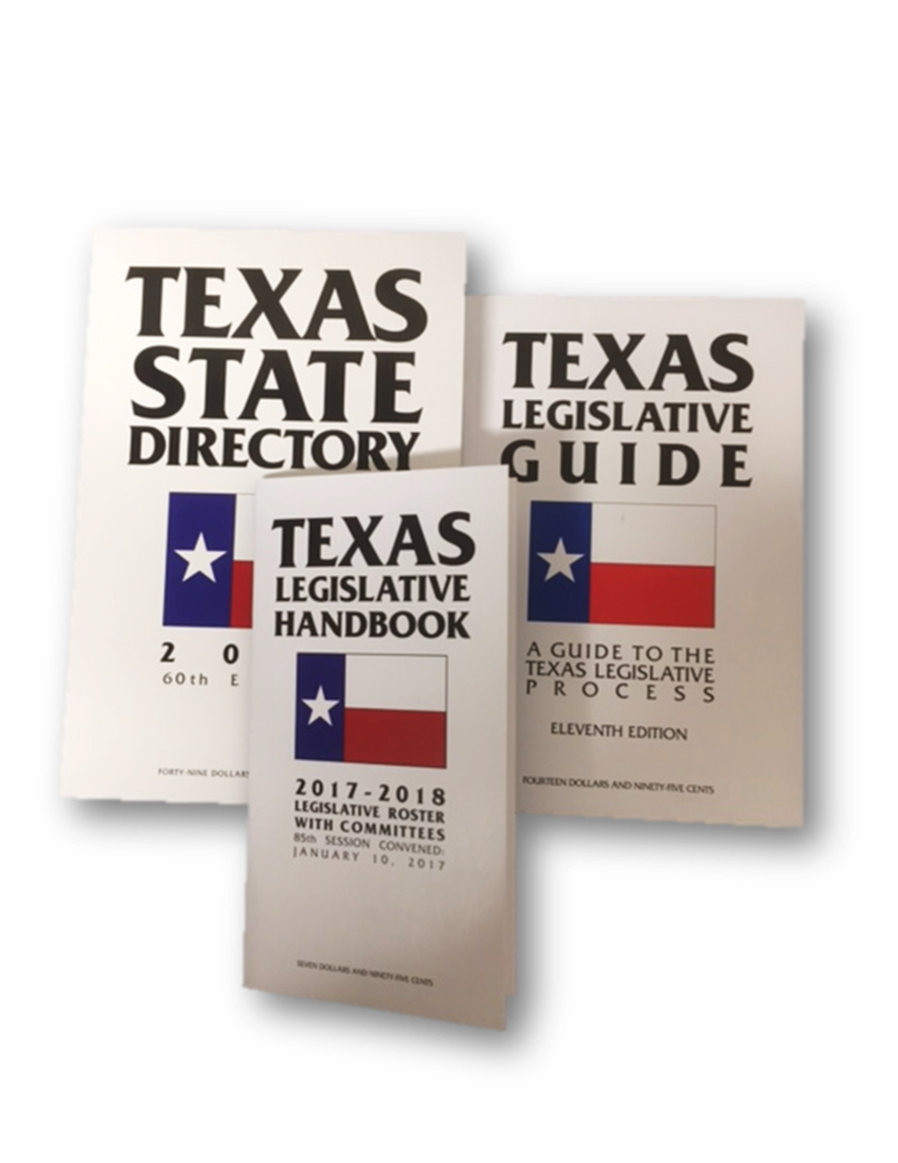 Published by Texas State Directory Press, Inc.  JK 4830 .T4