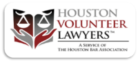 Houston Volunteer Lawyers - link to flood recovery resources and clinics https://www.makejusticehappen.org/node/193