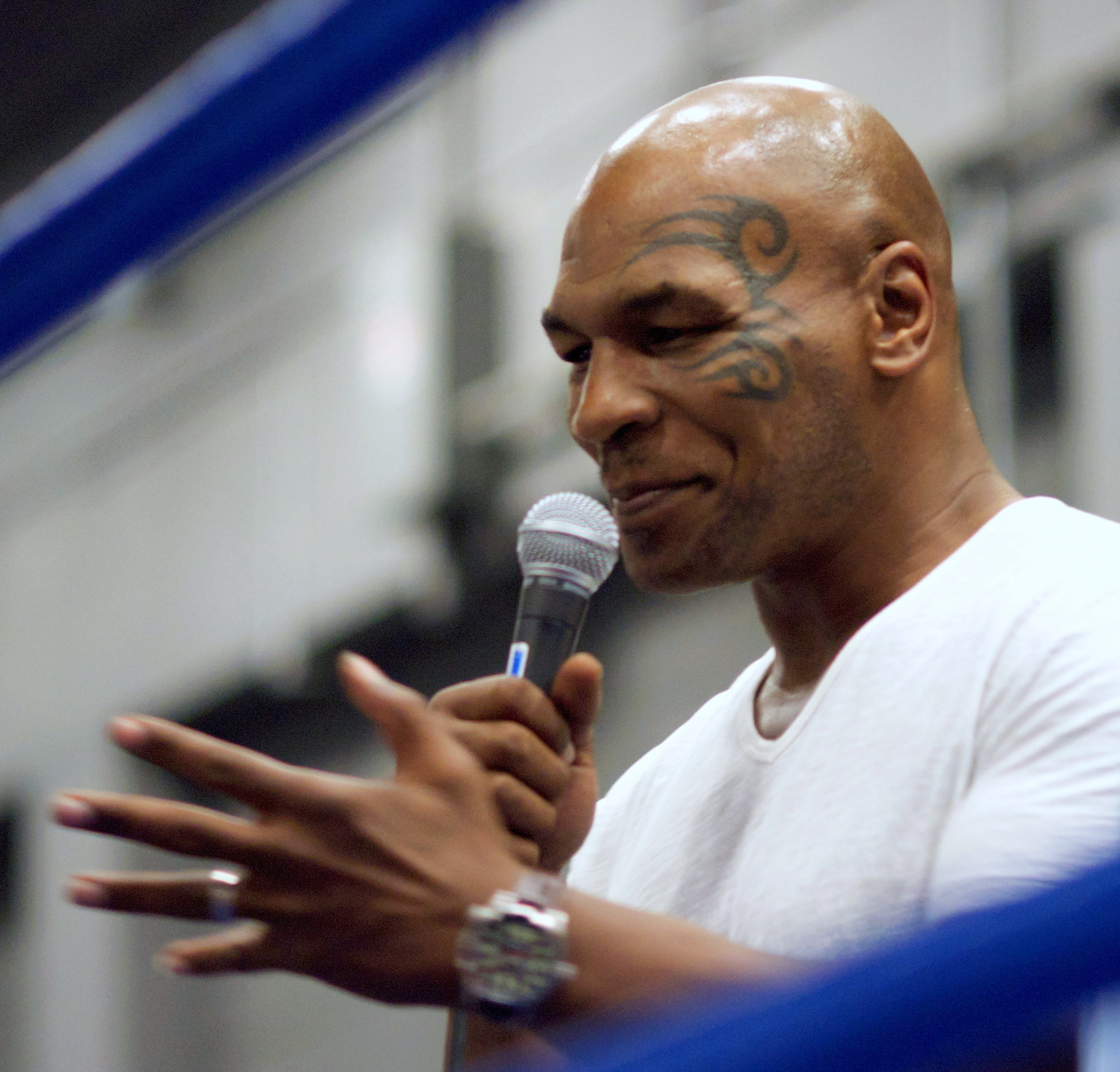 Mike Tyson's famous tattoo that started it all.
