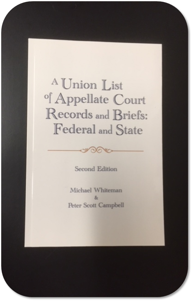 By Michael Whiteman & Peter Scott Campbell  Published by William S. Hein & Co., Inc.  KF 105.9 .W49 2017