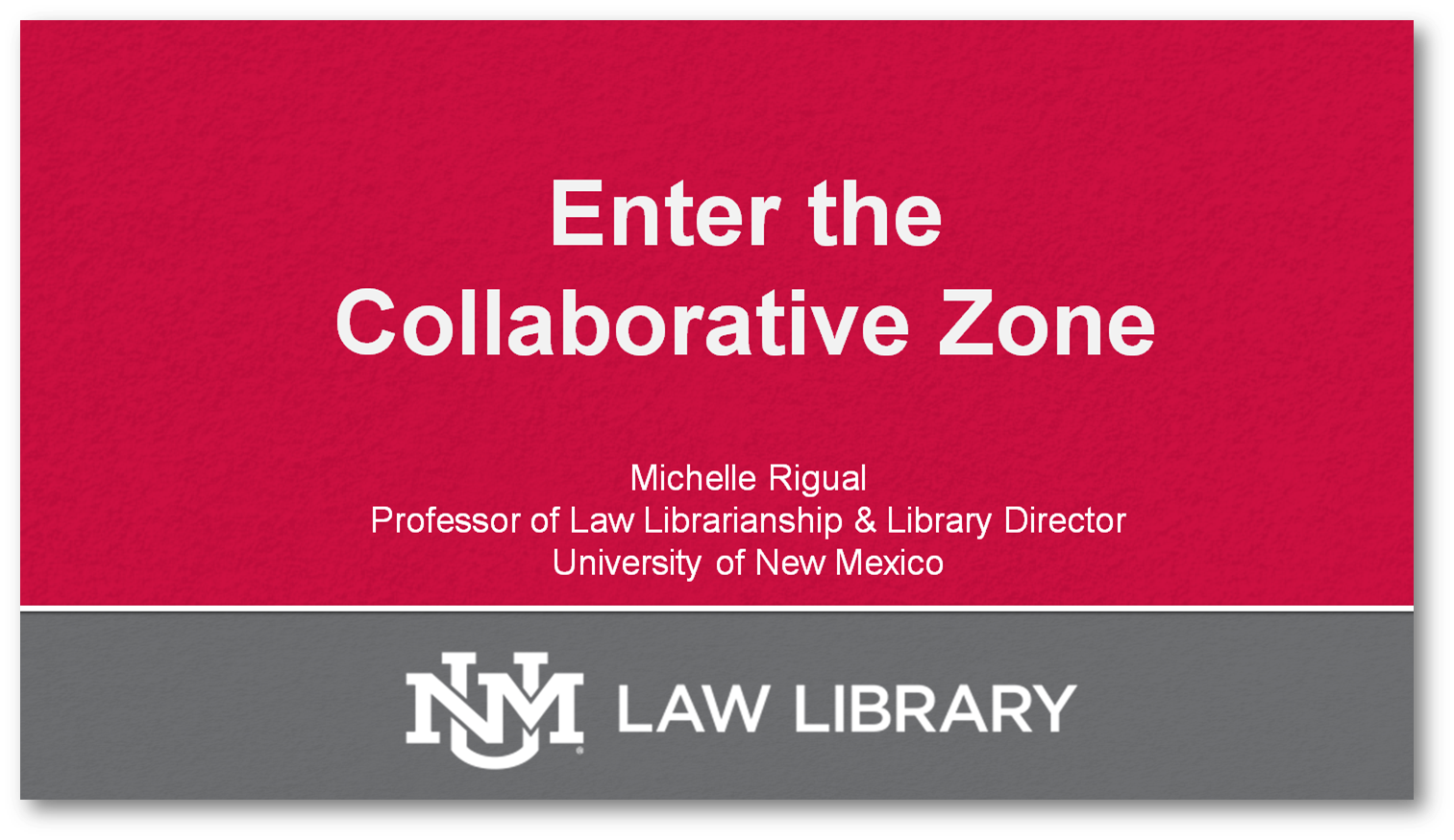 Click to download program materials for Enter the Collaborative Zone