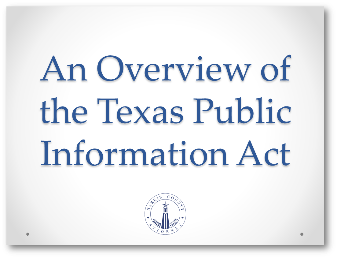 Click to download program materials for Accessing Government Records: Overview of the PIA Request Process