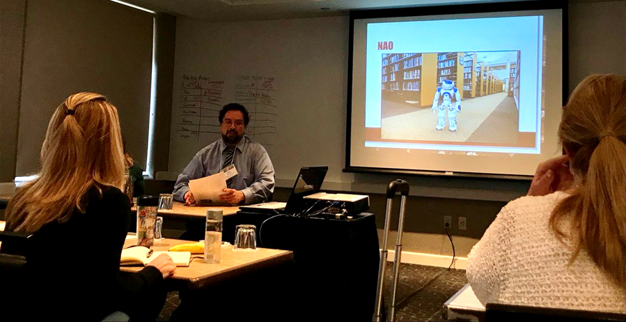 Dan Donahue talks legal tech at SWALL/HALL 2018.