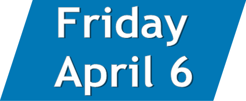 Click to access programs that took place on Friday, April 6.