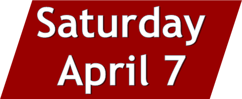 Click to access programs that took place on Saturday, April 7.