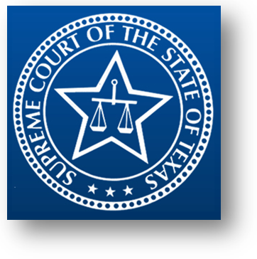 Supreme Court of the State of Texas seal