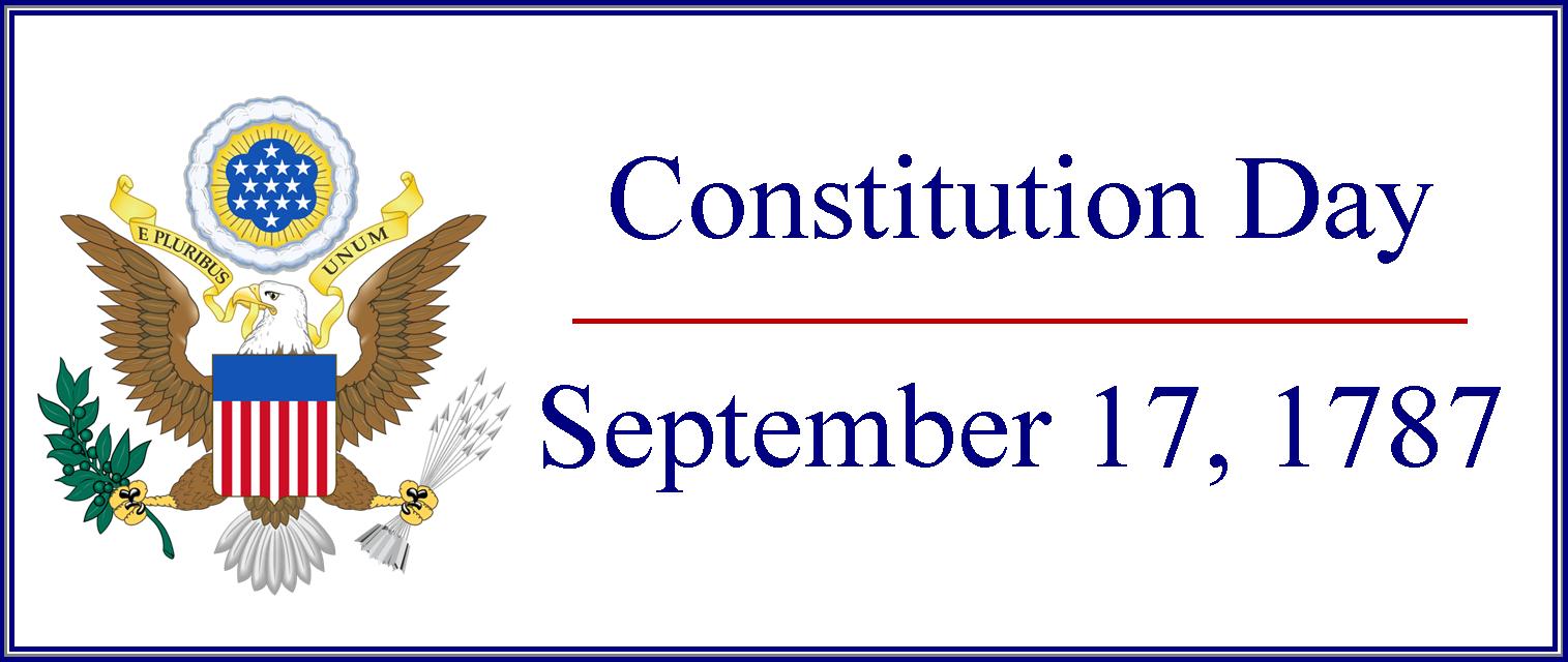 Constitution Day, September 17, 1787