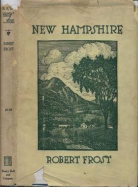 New Hampshire  by Robert Frost is one of many works from 1923 entering the public domain on Jan. 1, 2019.