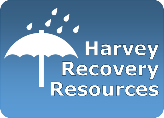 Harvey Recovery Resources. Click to view page on the Harris County Law Library website.