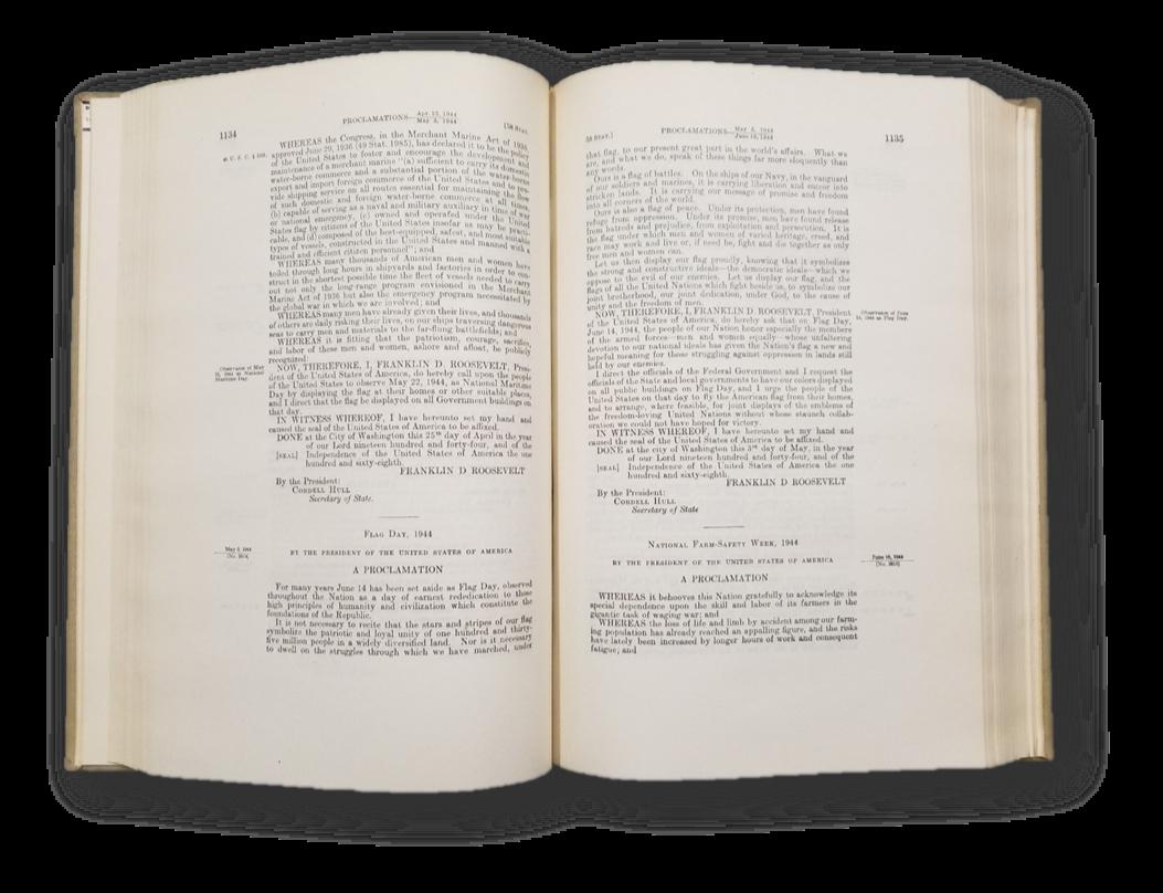 Proclamation 2614, 58 Stat. 1134