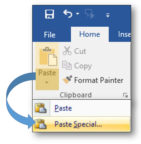 MS Word - Paste Special.PNG