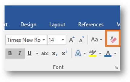 MS Word - Clear All Formatting.png