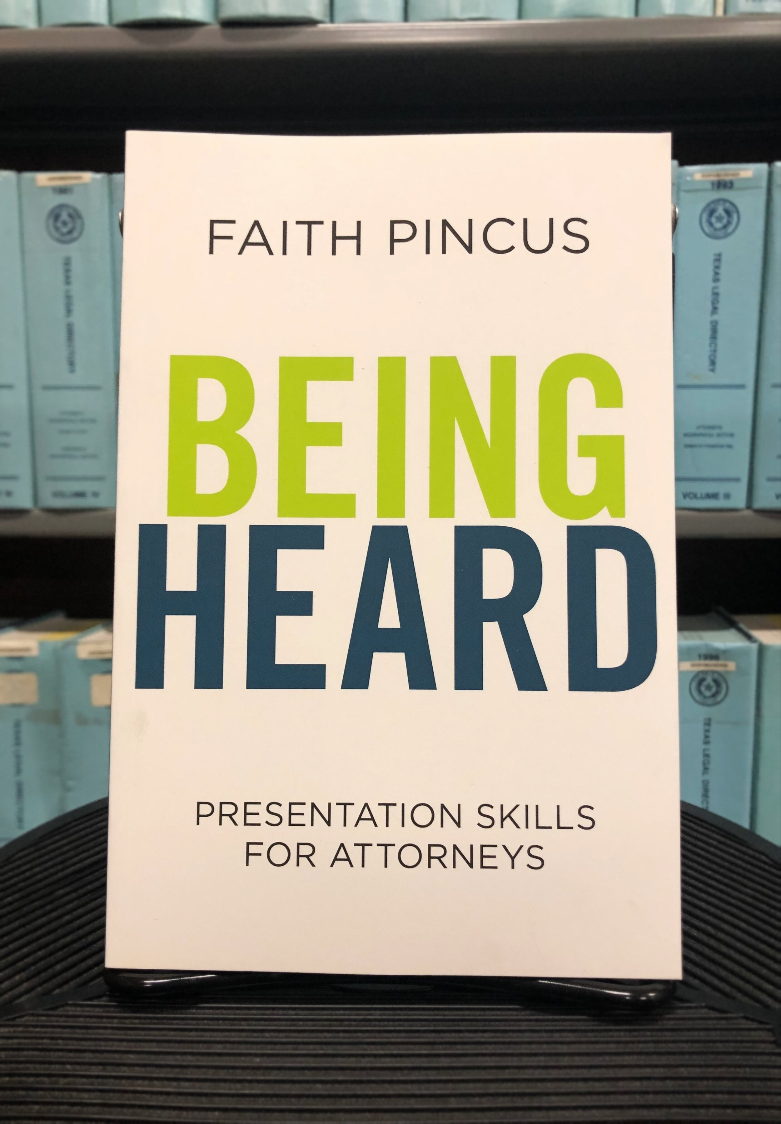 By Faith Pincus  Published by American Bar Association  KF 300 .P56 2018  Photo Credit: Helen Hartman
