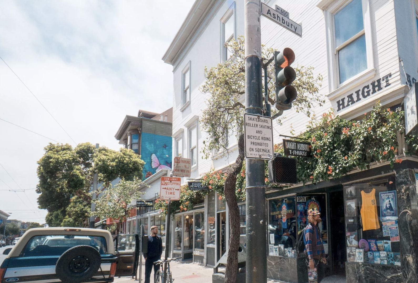 Haight Ashbury District Walking Tour  Walking tour through the epicenter of 1960s hippie counterculture and music