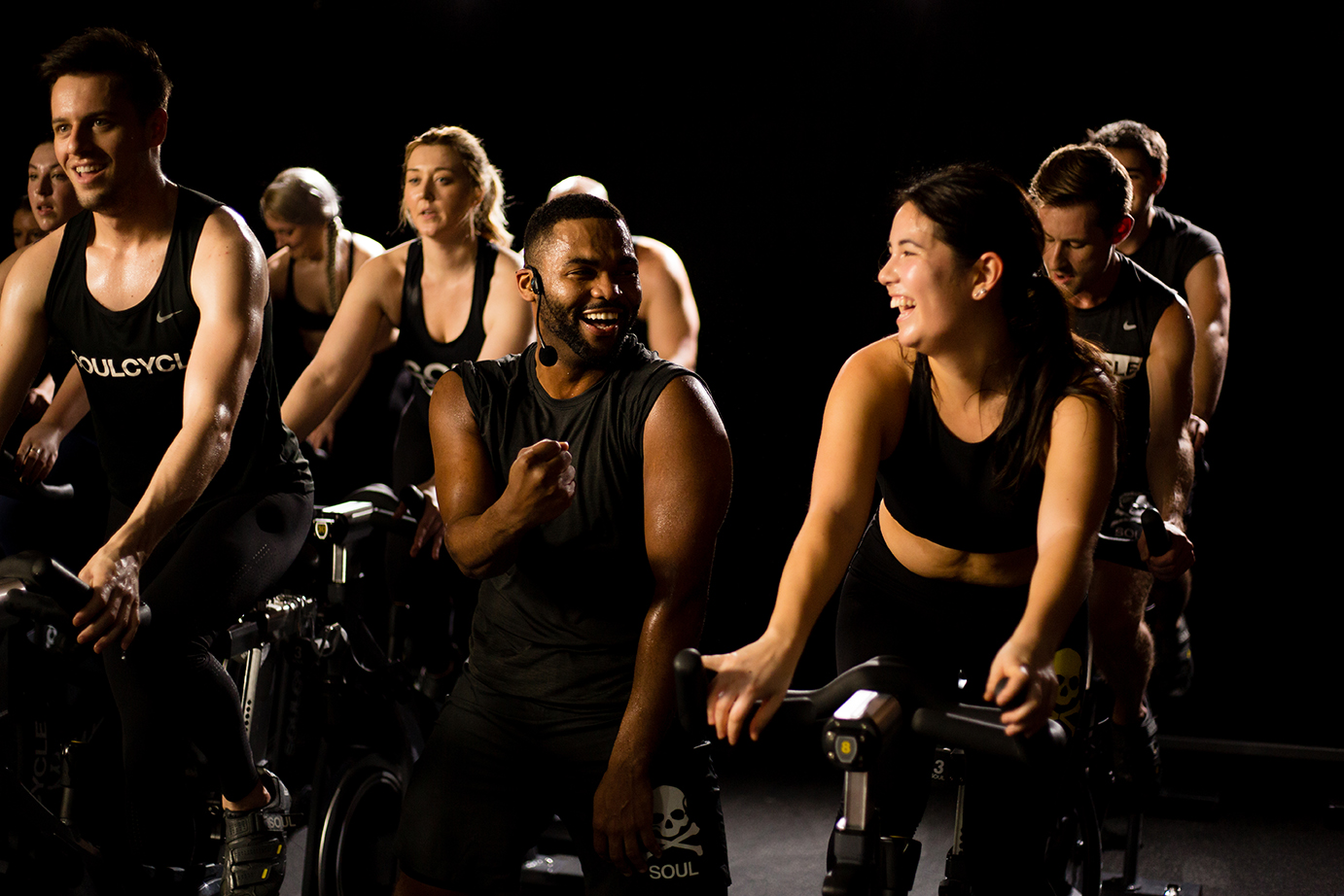 SoulCycle  Intense, indoor 45-minute cycling cardio and muscle-sculpting class with one-of-a-kind playlists
