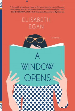 Rebecca is reading A Window Opens in hardcover.